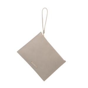 Cokkodrilla chutch bag dafne pelle marmo fronte
